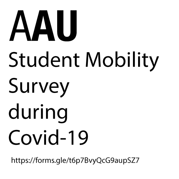 AAU Student Mobility Survey during Covid-19