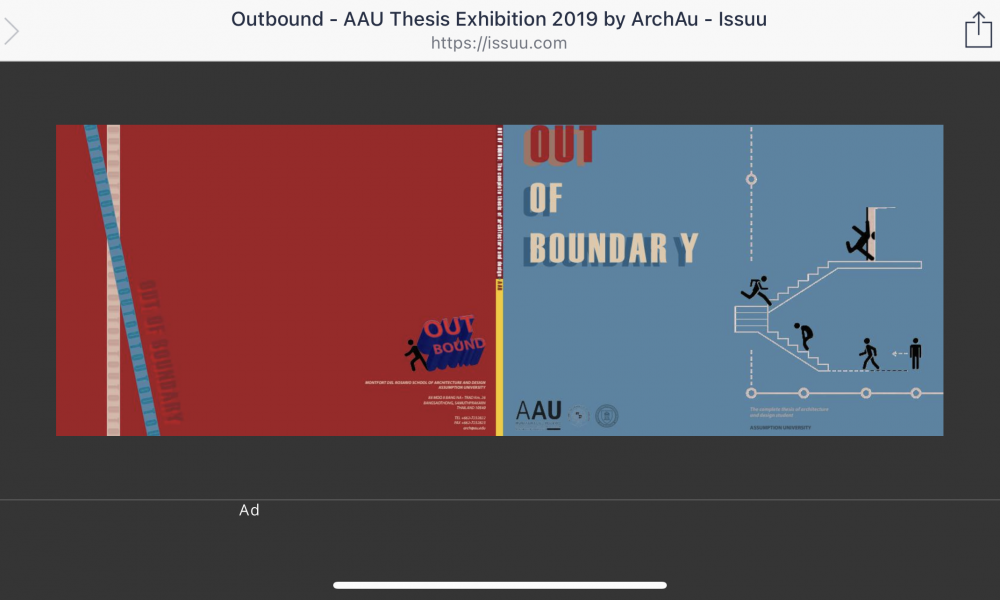Outbound – AAU Thesis Exhibition 2019