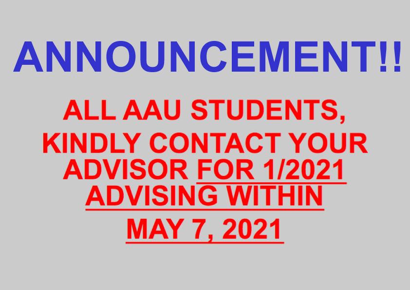 1/2021 Advising